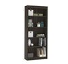 "Premium 72"" Five Shelf Bookcase in Dark Chocolate from Bestar"