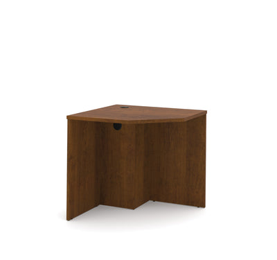 Premium Corner Office Desk in Tuscany Brown