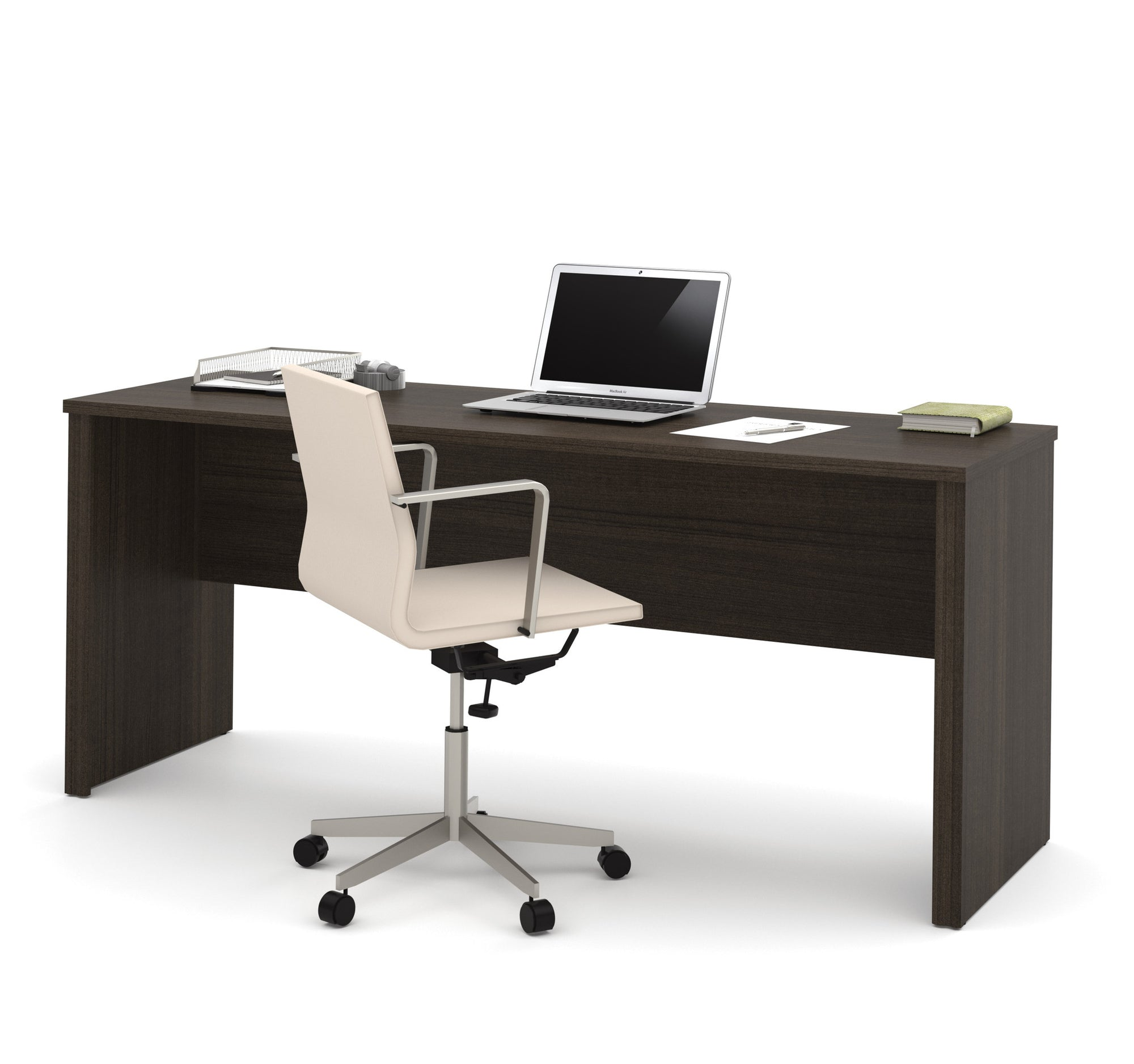 narrow office desk. 71\ Narrow Office Desk