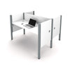 Premium Pro-Biz Face-to-Face Double Desk in White