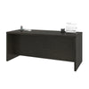 "71"" Executive Desk with Privacy Panel in Deep Gray"