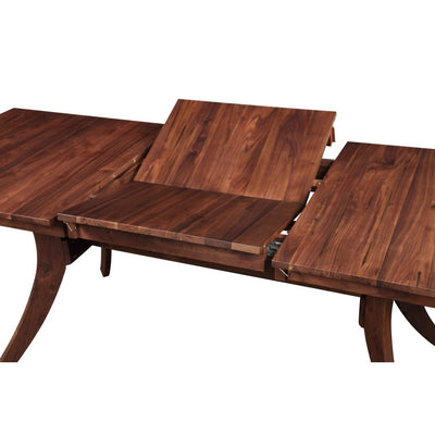 "63"" - 87"" Dark Walnut Extending Conference Room Table"