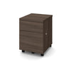 Mobile Locking File Cabinet in Antigua Finish