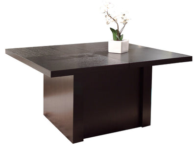 "Modern Wenge Conference Table with Extensions to 167"" W"