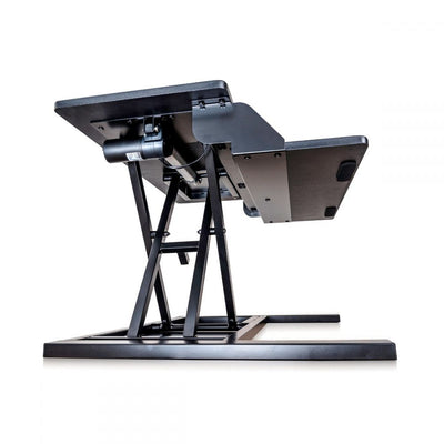 Black Electric Motor Desk Riser