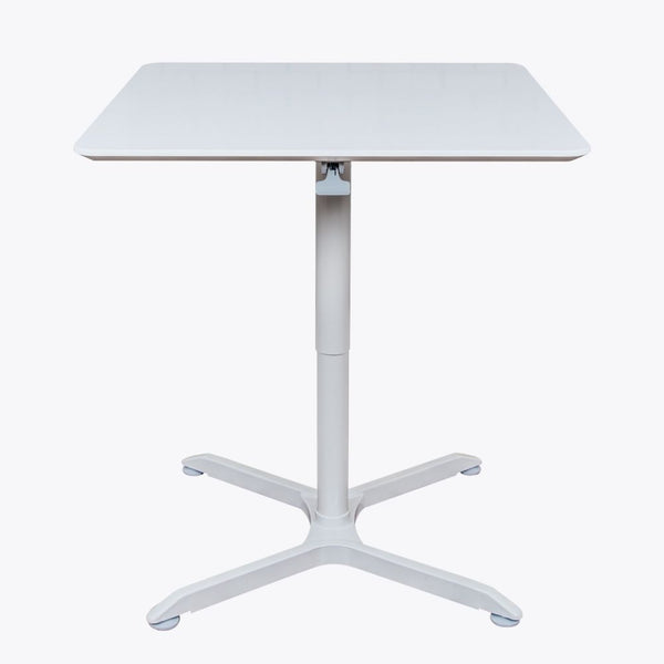 Classic 31 Quot Square White Meeting Table W Pneumatic Lift