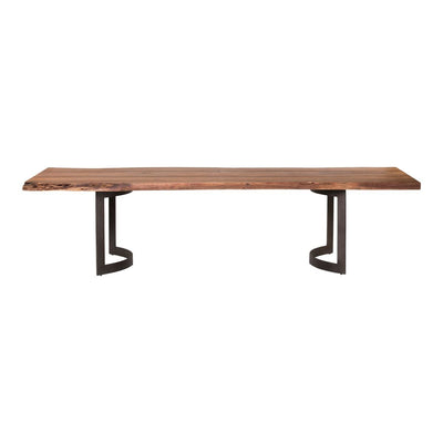 "Modern 76"" Solid Acacia Executive Desk or Conference Table"