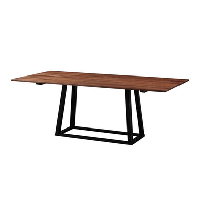 "79"" Walnut-Topped Meeting Table or Executive Desk"