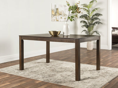 "60"" Dark Walnut Classically Designed Office Desk"
