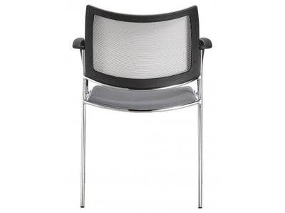 Gray Visitor / Guest Chair with Mesh Back (SET of TWO)