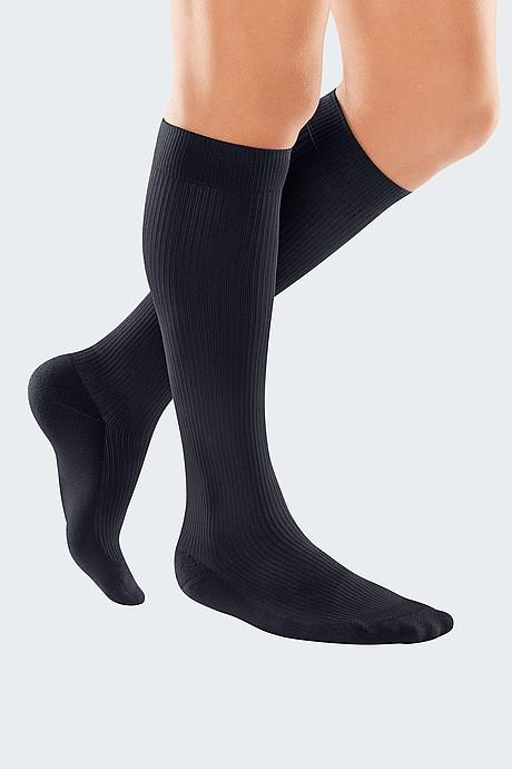medi travel® men travel compression socks - Both sides compatible