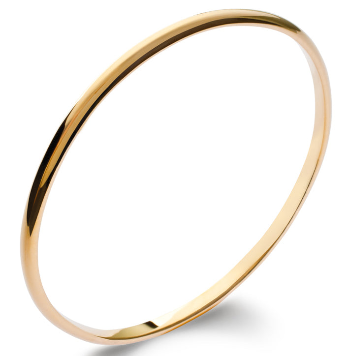 Burren Jewellery 18k gold plate Nitty gritty Bangle
