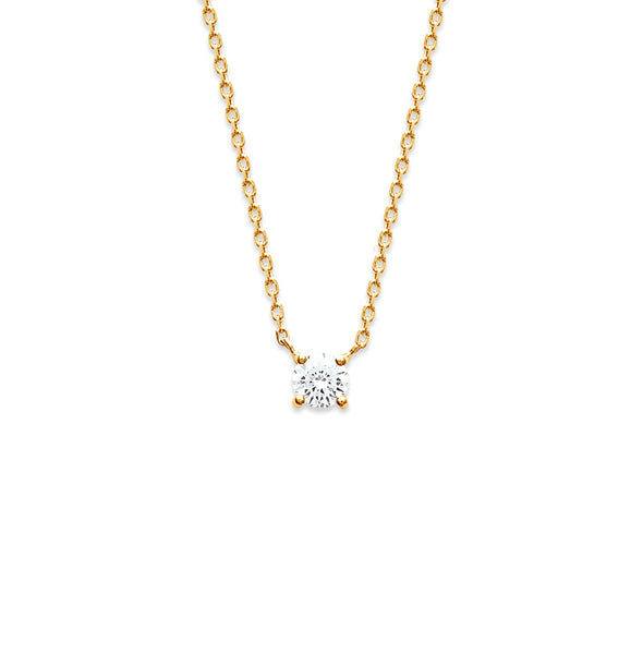 Burren Jewellery 18k gold plate heaven necklace