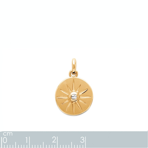 Burren Jewellery 18k gold plate im so in love with u pendant  Edit alt text