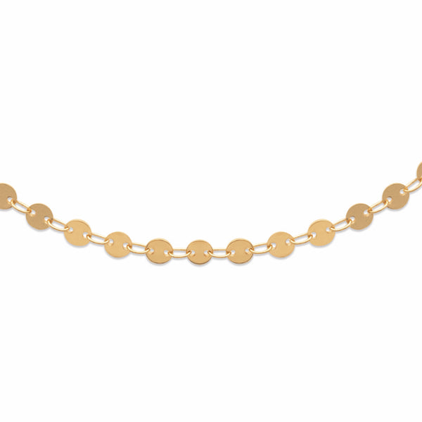 Burren Jewellery 18k gold plated scale it up necklace