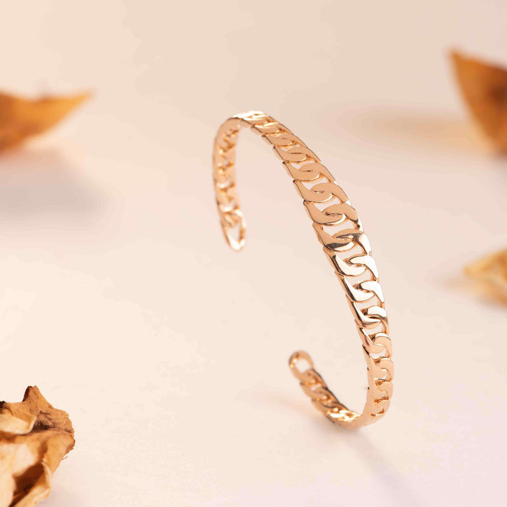 Burren jewellery 18k gold plate california dreaming bangle lifestyle