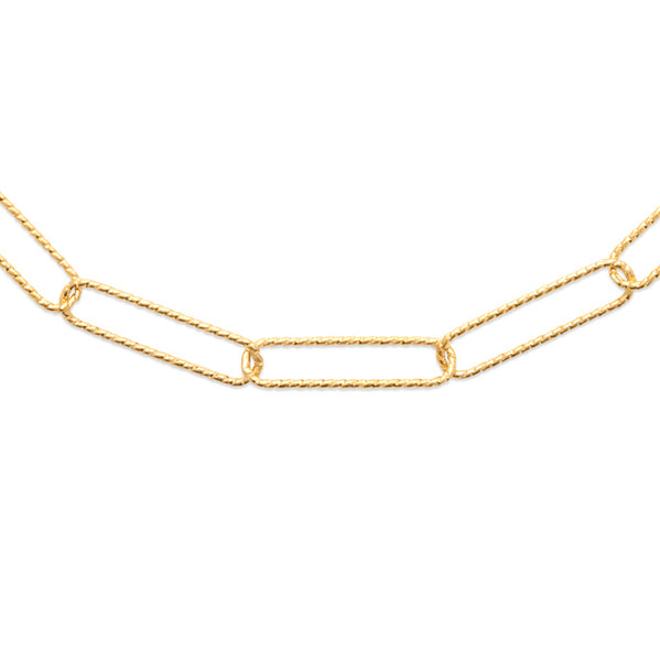 Burren jewellery 18k gold plated I feel good necklace