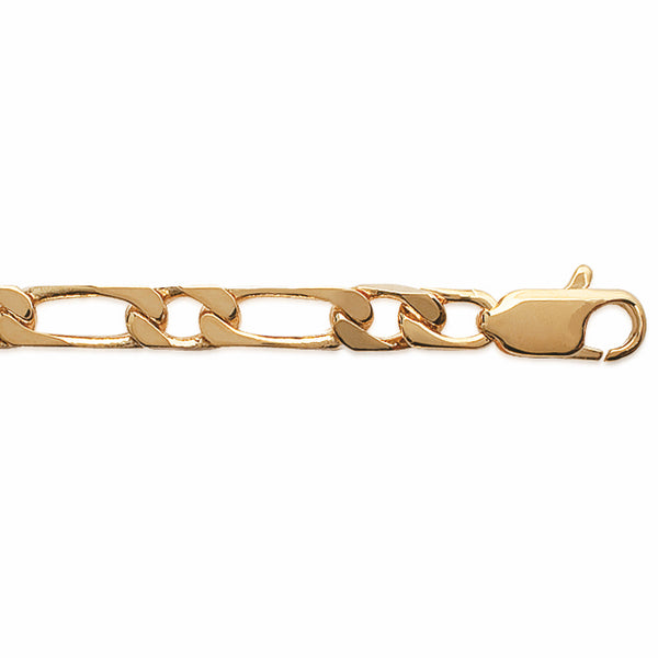 Burren jewellery 18k gold plated fig oro chain 50