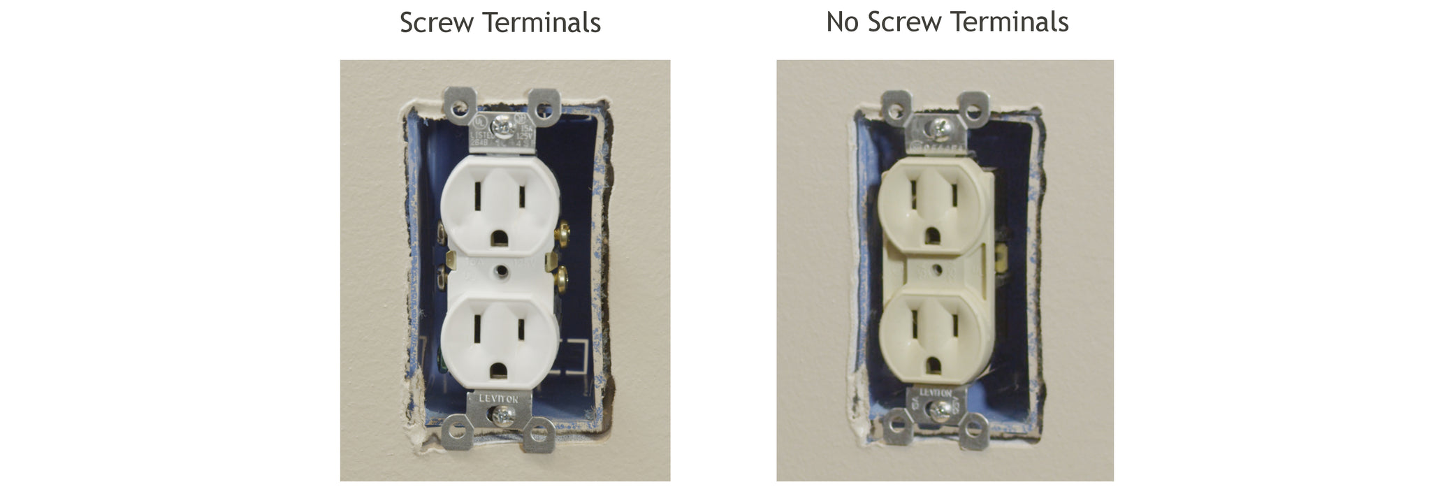Install And Troubleshooting 1 Snappower Using A Screw Or Plug Against On Wiring Socket South Africa If It Does Not Have Side Terminals You Will Need To Select Another Outlet Inside The Home Use With Your Snaprays Guidelight