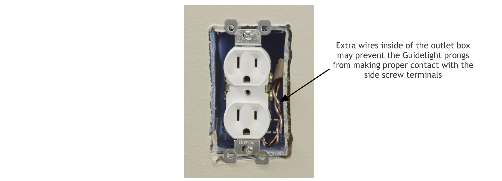 Install And Troubleshooting 1 Snappower Wiring A Receptacle After Switch B Recessed Electrical Box Outlet Occurs When