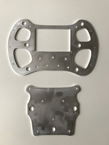 Wheel 3mm ALU Lasercut (Main+Back plate)