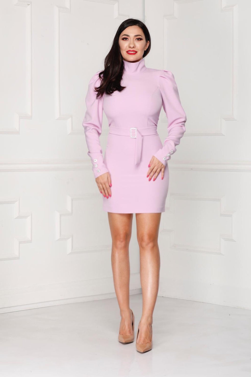 Pastel Mini Luxe Dress