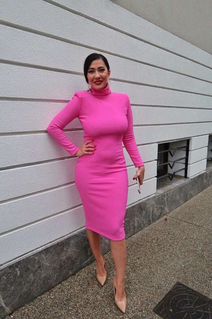 Annabelle Pink Dress