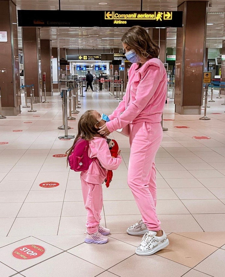 Mommy & Daughter Tracksuit