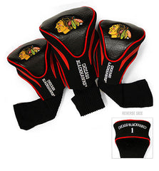 3 Pk Contour Sock Headcovers CHICAGO BLACKHAWKS