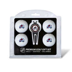 4 Ball Divot Tool Gift Set COLORADO AVALANCHE