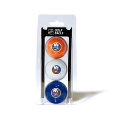 3 Golf Ball Pack NEW YORK ISLANDERS