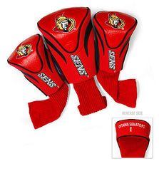 3 Pk Contour Sock Headcovers OTTAWA SENATORS