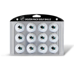 Golf Balls Dozen Pack SAN JOSE SHARKS