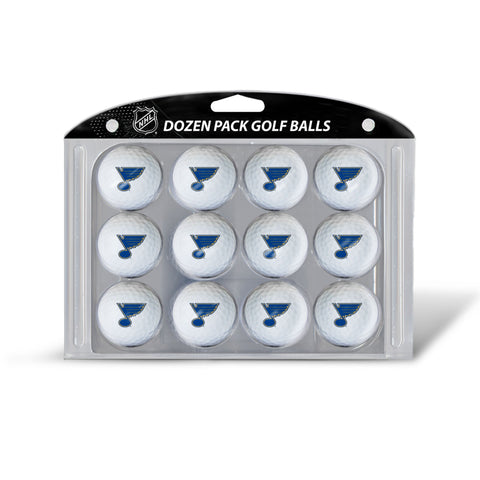 Golf Balls Dozen Pack ST LOUIS BLUES