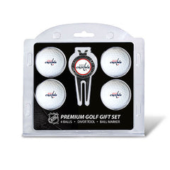 4 Ball Divot Tool Gift Set WASHINGTON CAPITALS