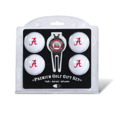 4 Ball Divot Tool Gift Set Alabama Crimson Tide