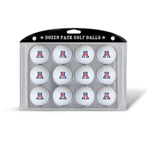 Golf Balls Dozen Pack Arizona Wildcats