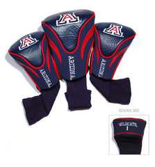 3 Pk Contour Sock Headcovers Arizona Wildcats