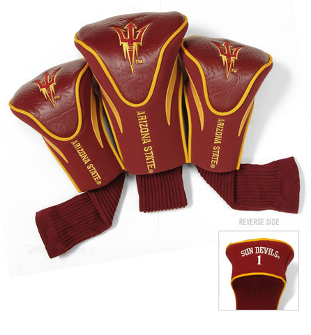 3 Pk Contour Sock Headcovers Arizona St. Sun Devils