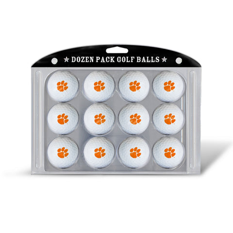 Golf Balls Dozen Pack Clemson Tigers