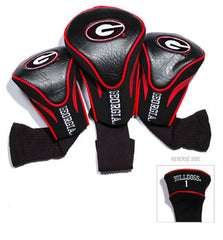 3 Pk Contour Sock Headcovers Georgia Bulldogs