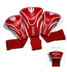 3 Pk Contour Sock Headcovers Indiana Hoosiers