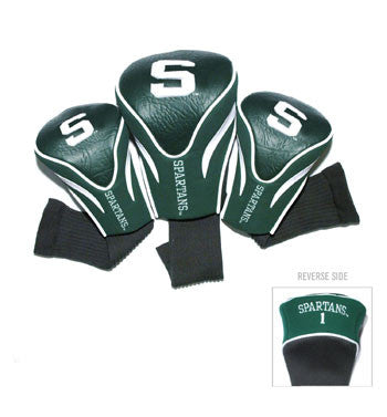 3 Pk Contour Sock Headcovers Michigan St. Spartans