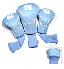 3 Pk Contour Sock Headcovers N. Carolina Tar Heels