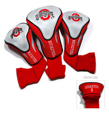 3 Pk Contour Sock Headcovers Ohio St. Buckeyes