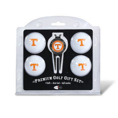 4 Ball Divot Tool Gift Set Tennessee Volunteers
