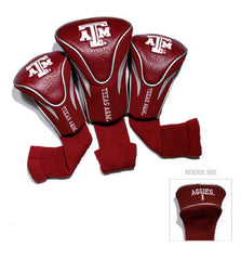 3 Pk Contour Sock Headcovers Texas A & M Aggies