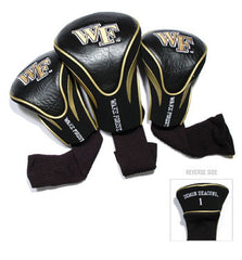 3 Pk Contour Sock Headcovers Wake Forest Demon Deacons