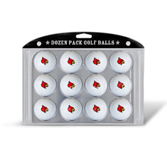 Golf Balls Dozen Pack Louisville Cardinals