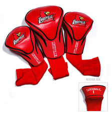 3 Pk Contour Sock Headcovers Louisville Cardinals